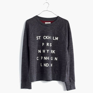 Madewell   Tourguide Pullover Sweater XS